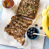 Wat eten na sporten: Energierepen van gepofte quinoa met Chiquita-banaan en pompoenzaden.