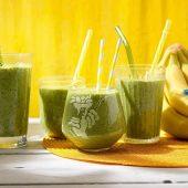 Gezonde smoothie met spinazie en Chiquita-banaan