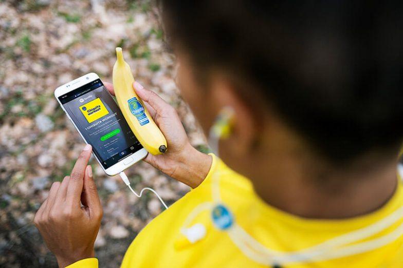 Chiquita's new playlists on Spotify - sportive