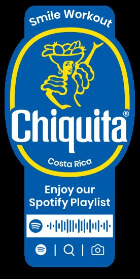 Spotify_Workout_Chiquita_Sticker