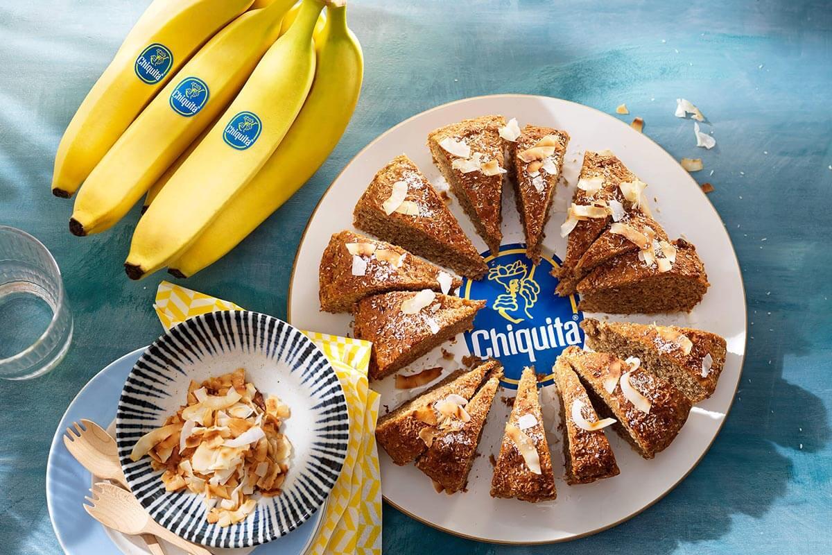 Chiquita-bananenbrood met kokos