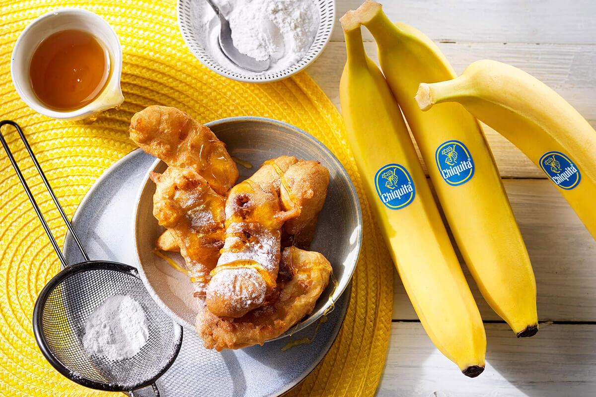 Gemakkelijk gefrituurde Chiquita bananen