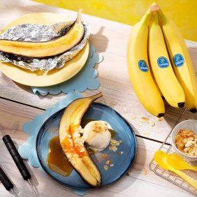 Chiquita bananensplit voor op de barbecue