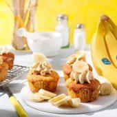 Chiquita-banaancupcakes met pindakaas