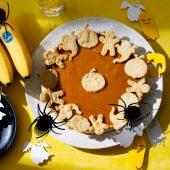 Eenvoudige Halloween-pompoentaart met Chiquita bananen