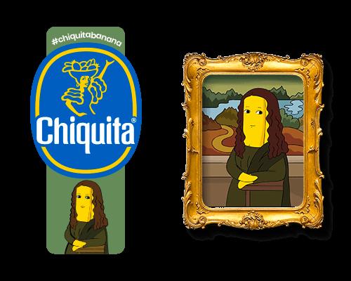 Chiquita-Artist-Sticker_Leonardo_Da_Vinci-monalisa