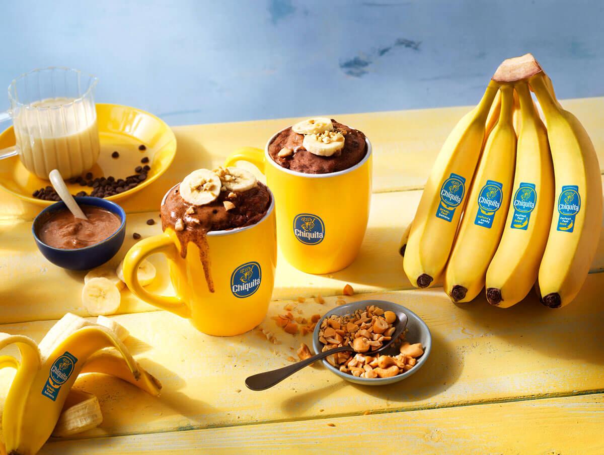Beste Chiquita Bananen Chocolade Mugcake Ooit