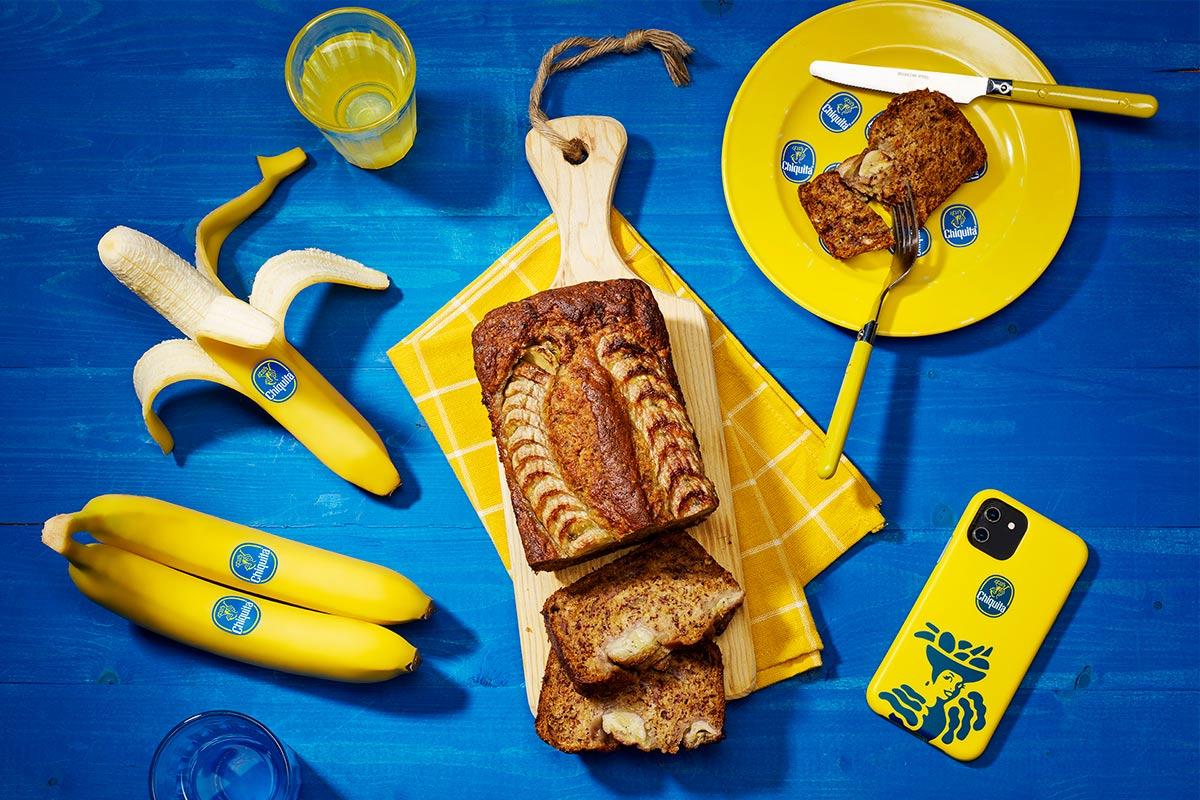 Veganistisch bananenbrood van Chiquita