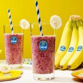 Gezonde bananen smoothie met haver voor het ontbijt van Chiquita