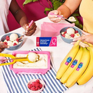 Yoghurtijs met kardemom en Chiquita banaan