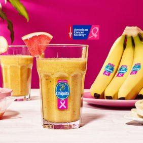 Smoothie met grapefruit, gember en Chiquita bananen